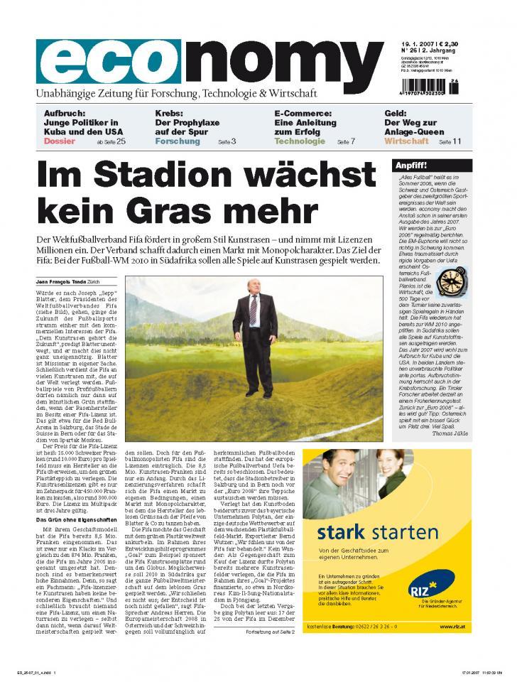 Heft Archiv 2007 - Seite 1