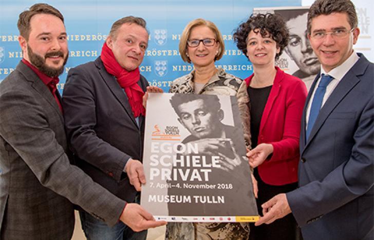"""""""Egon Schiele ist ein Künstler von Weltruf"""""""
