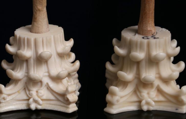 Der Elfenbein-Ersatz aus dem 3D-Drucker